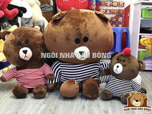 Brown áo