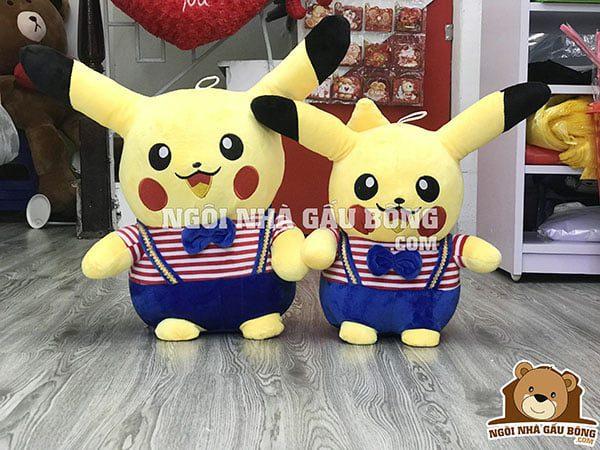 gấu bông pikachu