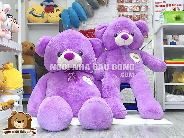Gấu Teddy 1m4 – 1m5 – 1m6 | Sự lựa chọn hoàn hảo dành cho bạn