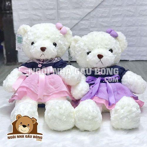 Gấu Váy Hồng