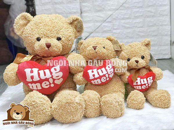 Teddy Ôm Tim Hug Me