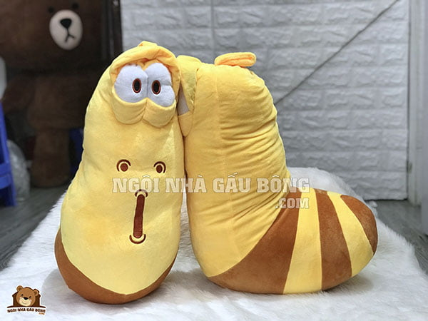 gấu bông larva