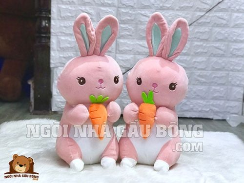 Thỏ Mềm Cà Rốt