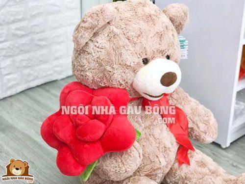Gấu Ôm Hoa
