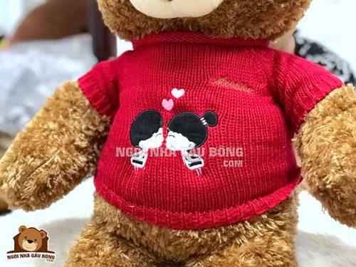 Gấu Áo Len Kiss