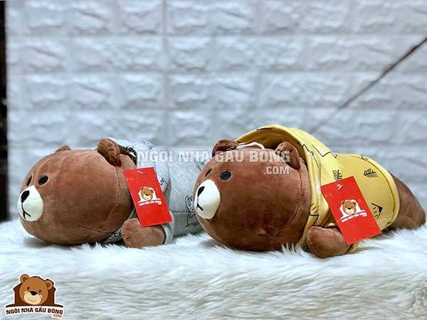 Brown Áo Nỉ Nằm