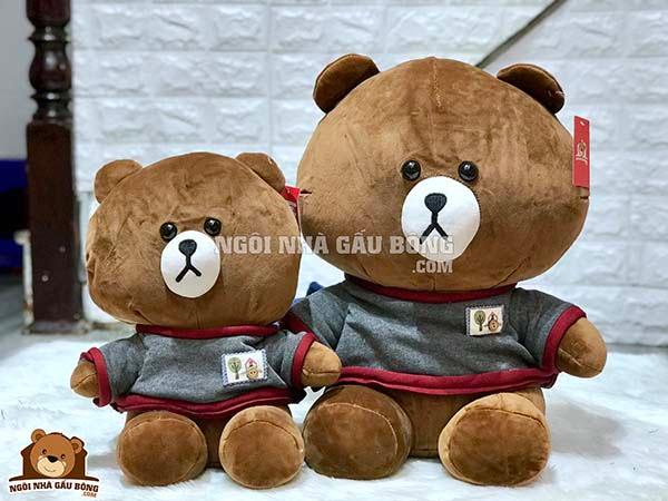 Gấu Line Đôi