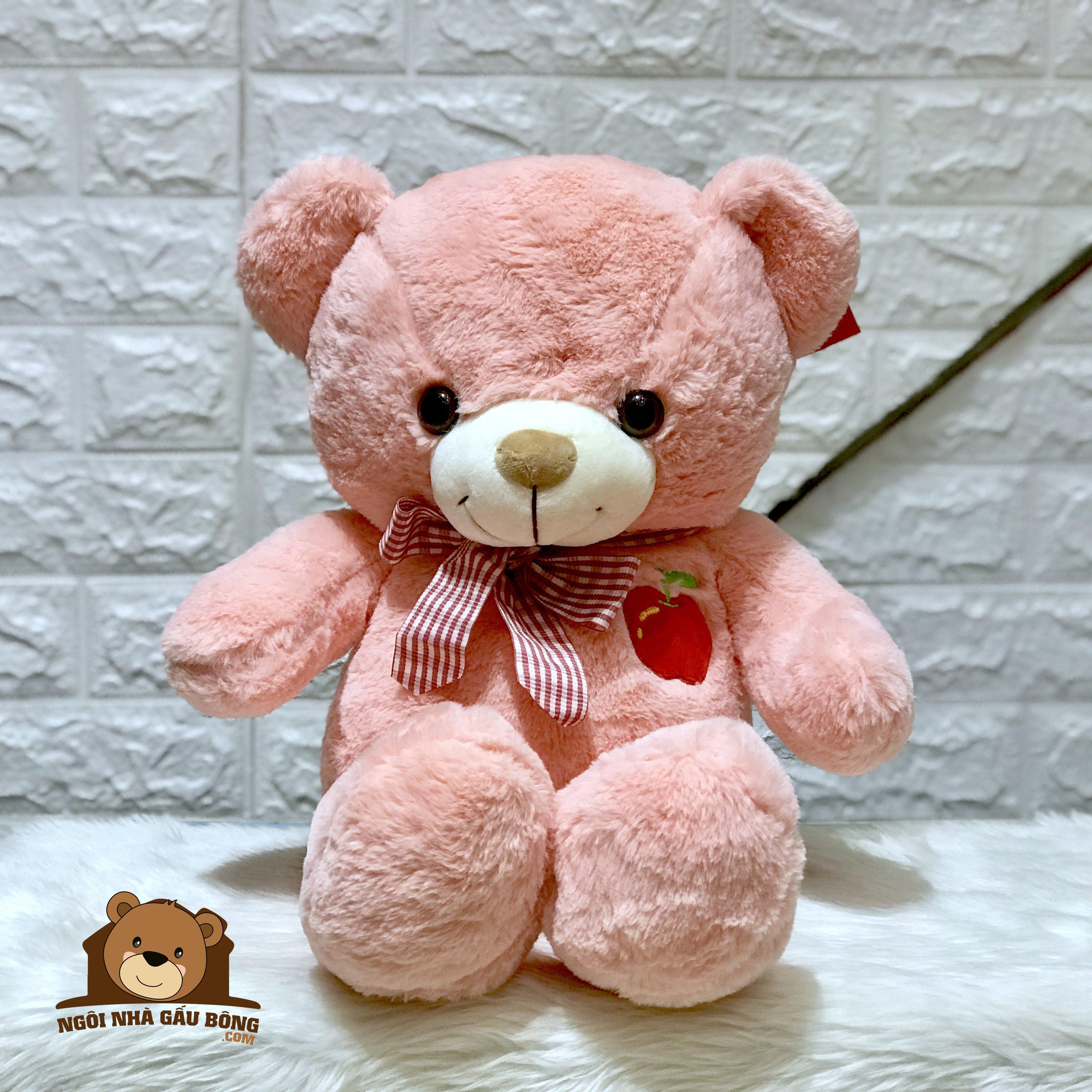 Gấu Thêu Quả