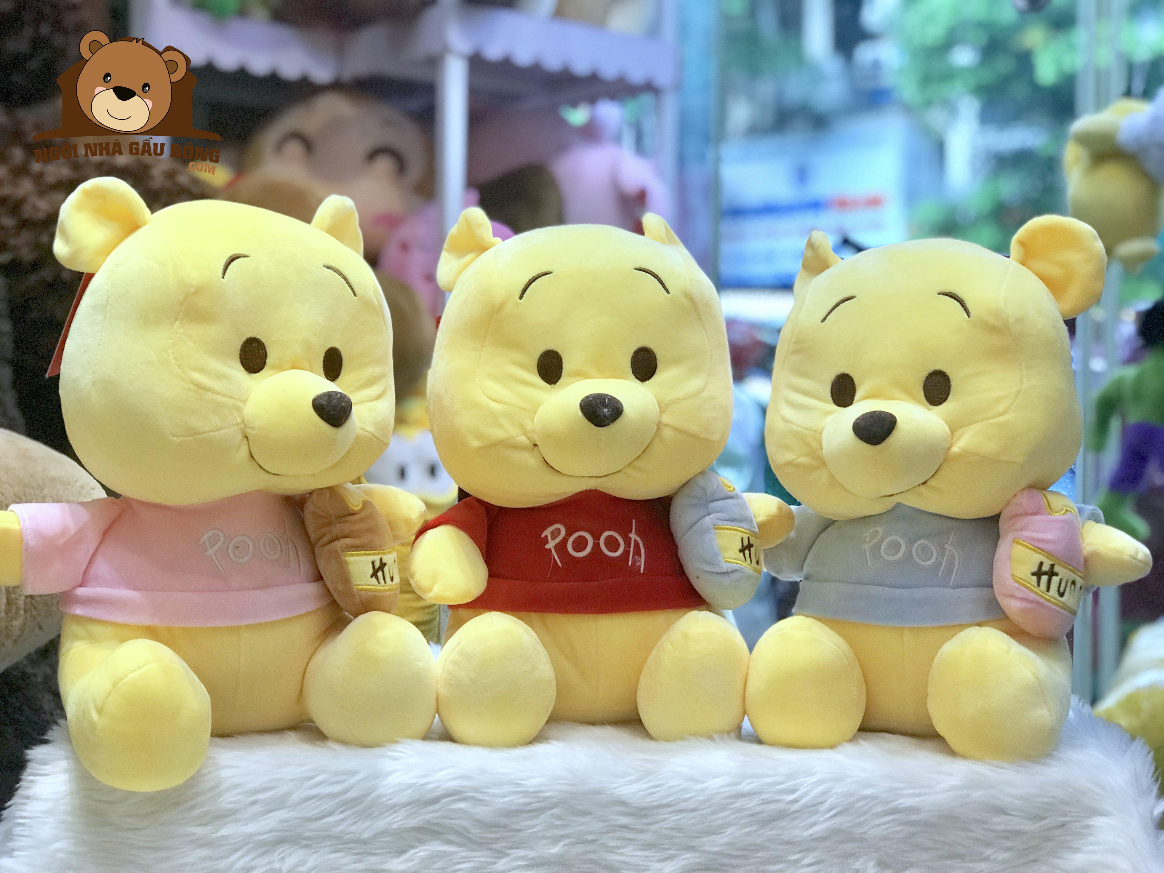 Gấu Pooh mềm
