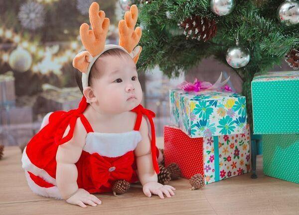Lời chúc giáng sinh dành cho mẹ và bé