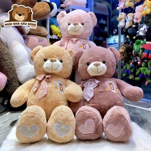Gấu Nơ Chân Love