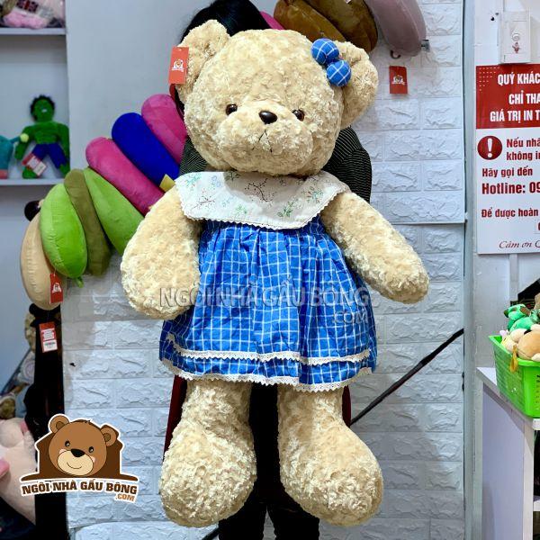 Gấu Váy Caro Yếm