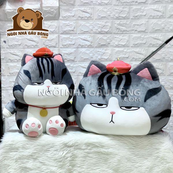 Gối Mèo Hoàng Thượng