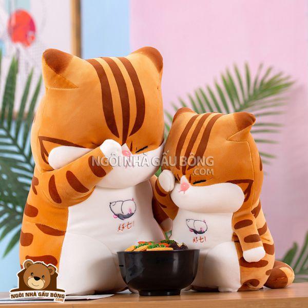 Mèo Bông Che Mắt