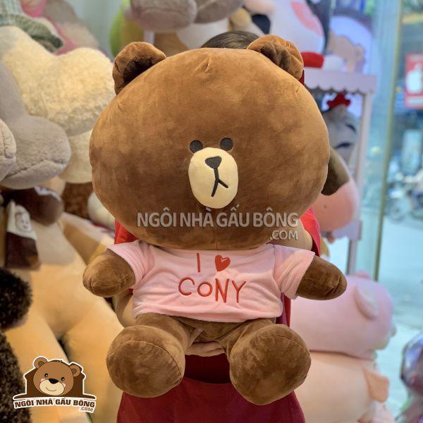 Gấu Line Áo Love