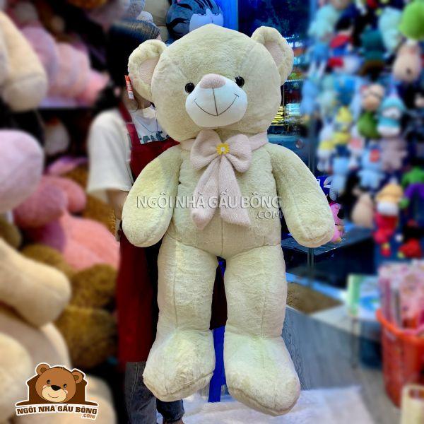Gấu Nơ Hoa